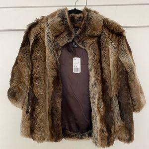 Outwear faux fur coat